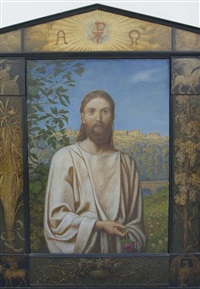 christus by hans thoma