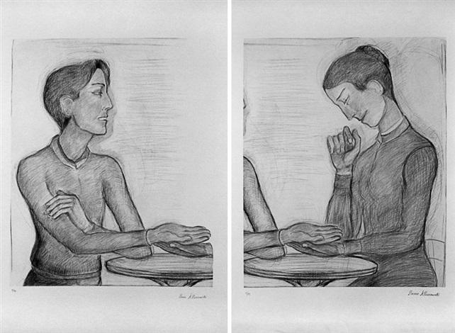 la chiromancie diptych by pierre klossowski