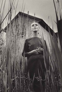 ina à east-hampton, new york by jeanloup sieff