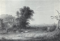 landscape with figures by john quidor