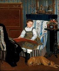 la petite fille au chien by camille léopold cabaillot lassale