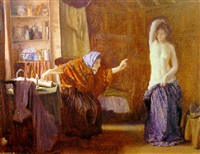 the wise woman by louis ginnett
