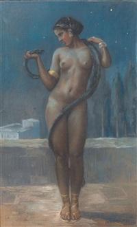 la charmeuse de serpent by jean camus