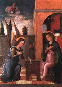 the annunciation by francesco granacci