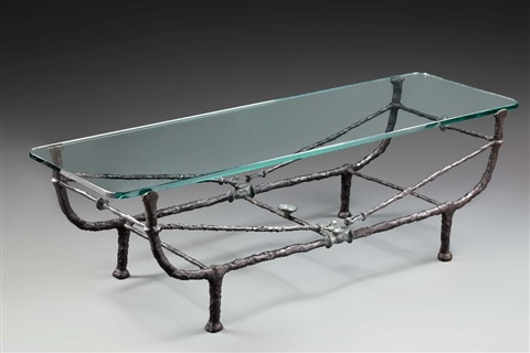 table berceau by diego giacometti