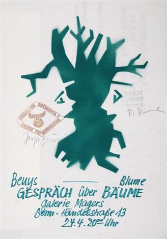 gespräch über bäume mit bernhard johannes blume by joseph beuys