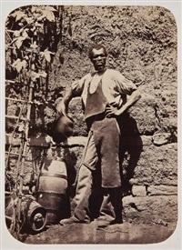 vistas monumentos y tipos de lima (52 works) by eugenio courret