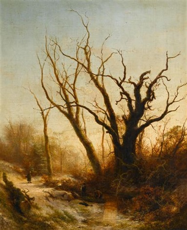 gathering twigs by pieter lodewijk francisco kluyver