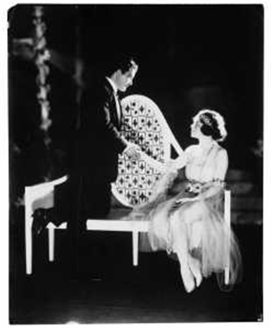 the love letter john charles thomas und carolyn thomson im broadway musical the love letter by james abbe