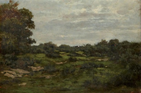 paysage by antoine chintreuil