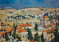 noontime in jerusalem by aaron april