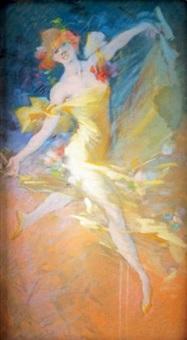 la danseuse by jules chéret
