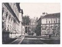 abside de l'église de notre-dame, arc de triomphe du carrousel, palais de l'école des beaux-arts (6 works) by louis désiré blanquart-evrard