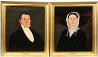 mr. and mrs. e. peace (pair) by william w. kennedy