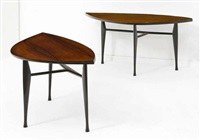 paire de tables d'appoints (set of 2) by yngve ekstrom