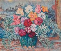 bouquet de fleurs by jeanne selmersheim-desgranges