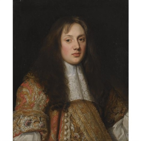 portrait of the hon charles bertie by john hayls