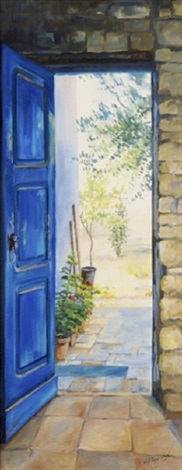 view to the olive grove by naomi peppard