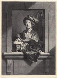 portrait hyacinthe rigaud by pierre drevet