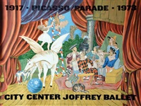 parade 1973 by pablo picasso