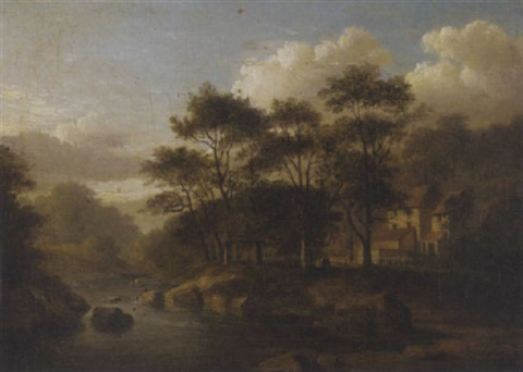 mill at woodhall by jane nasmyth