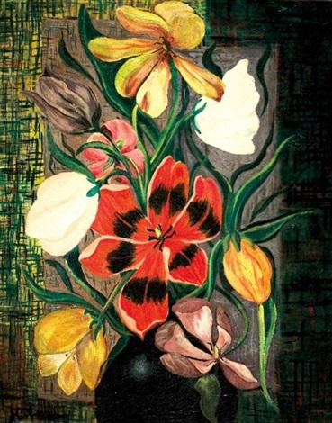 fleurs by moïse kisling