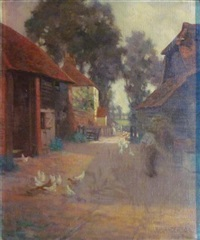 the farmyard by james bell anderson