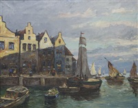 continental fishing village by weber