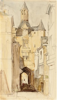 porte de la ville, amboise by david young cameron