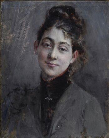 ritratto di giovane donna by giovanni boldini