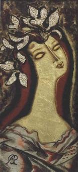 portrait panel by rené buthaud