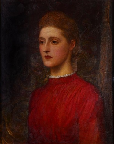 the artists adopted daughter lilian study by george frederick watts