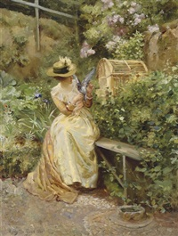 in the garden by robert payton reid