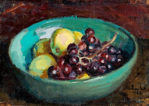 still life with fruit by magnus enckell