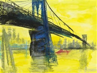 brooklyn bridge by rainer fetting