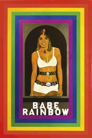 babe rainbow by peter blake