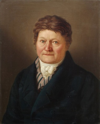 herrenbildnis by carl christian vogel von vogelstein