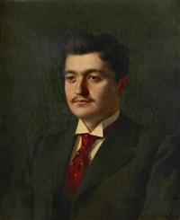 portrait de monsieur gravier by antonio de la gandara