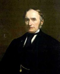 portrait of joseph burke by stephen catterson smith the younger