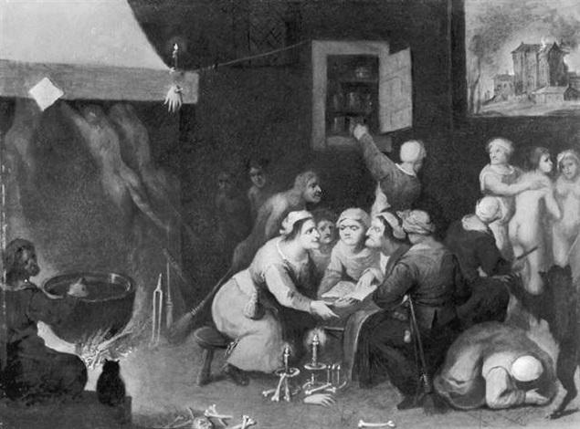 The witches coven by Cornelis de Baellieur the Elder on artnet