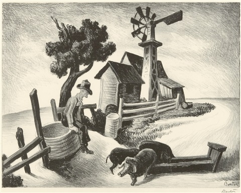 homestead by thomas hart benton