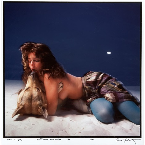 debra winger white sands new mexico by annie leibovitz