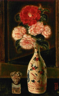 camellias by sadao tsubaki