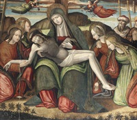 the lamentation by amico aspertini