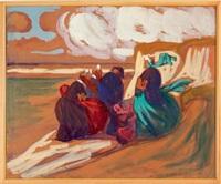 scène bretonne by jean julien lemordant