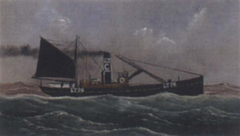 fischdampfer lt 76 by george race