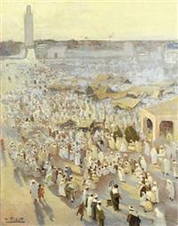 la place jamaa el fna, marrakech by dario mecatti
