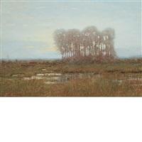 moonlight on the marshes by robertson k. mygatt