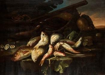 bodegón de pescado by elena recco