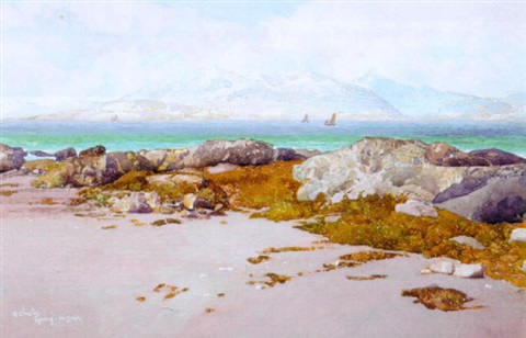 firth of clyde winter by robert clauston young